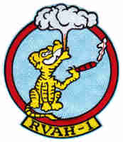 RVAH1 - Smoking Tigers insignia