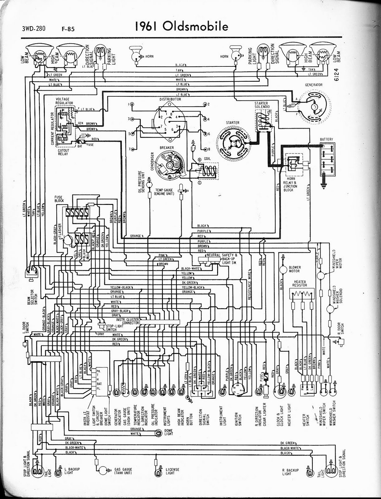 bzerob com technical articles library wiring section 2000 Oldsmobile  Intrigue Engine Diagram 1950 Oldsmobile 98 Wiring