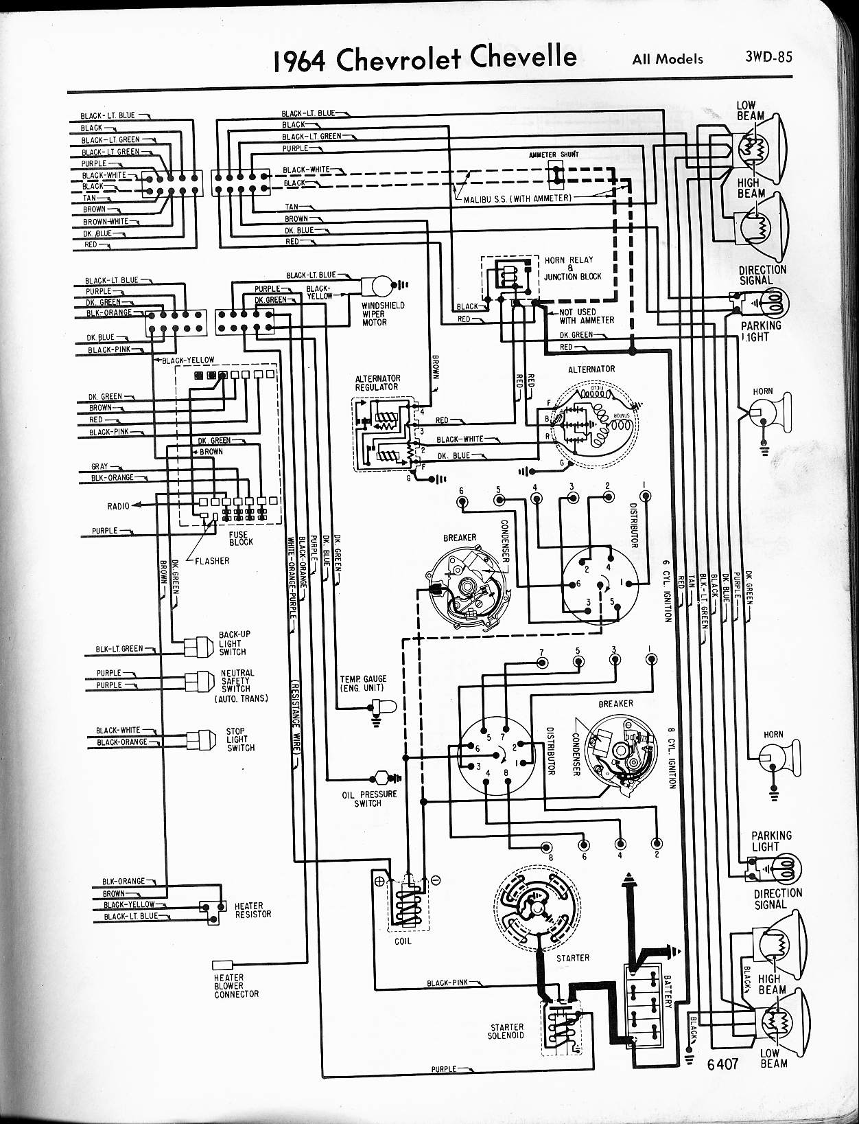 64_ChevelleA bzerob com technical articles library wiring section 64 falcon wiring diagram at bakdesigns.co