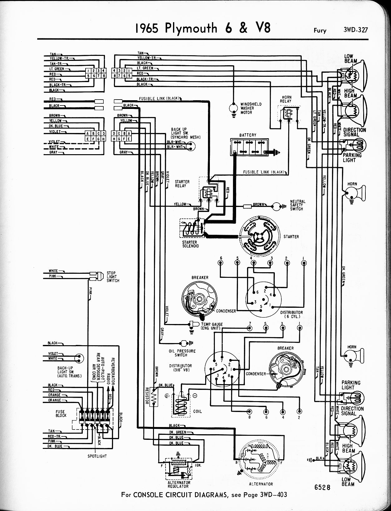 Technical Articles Library Wiring Section 79 Ford Alternator Diagram Free Picture 65 Plymouth