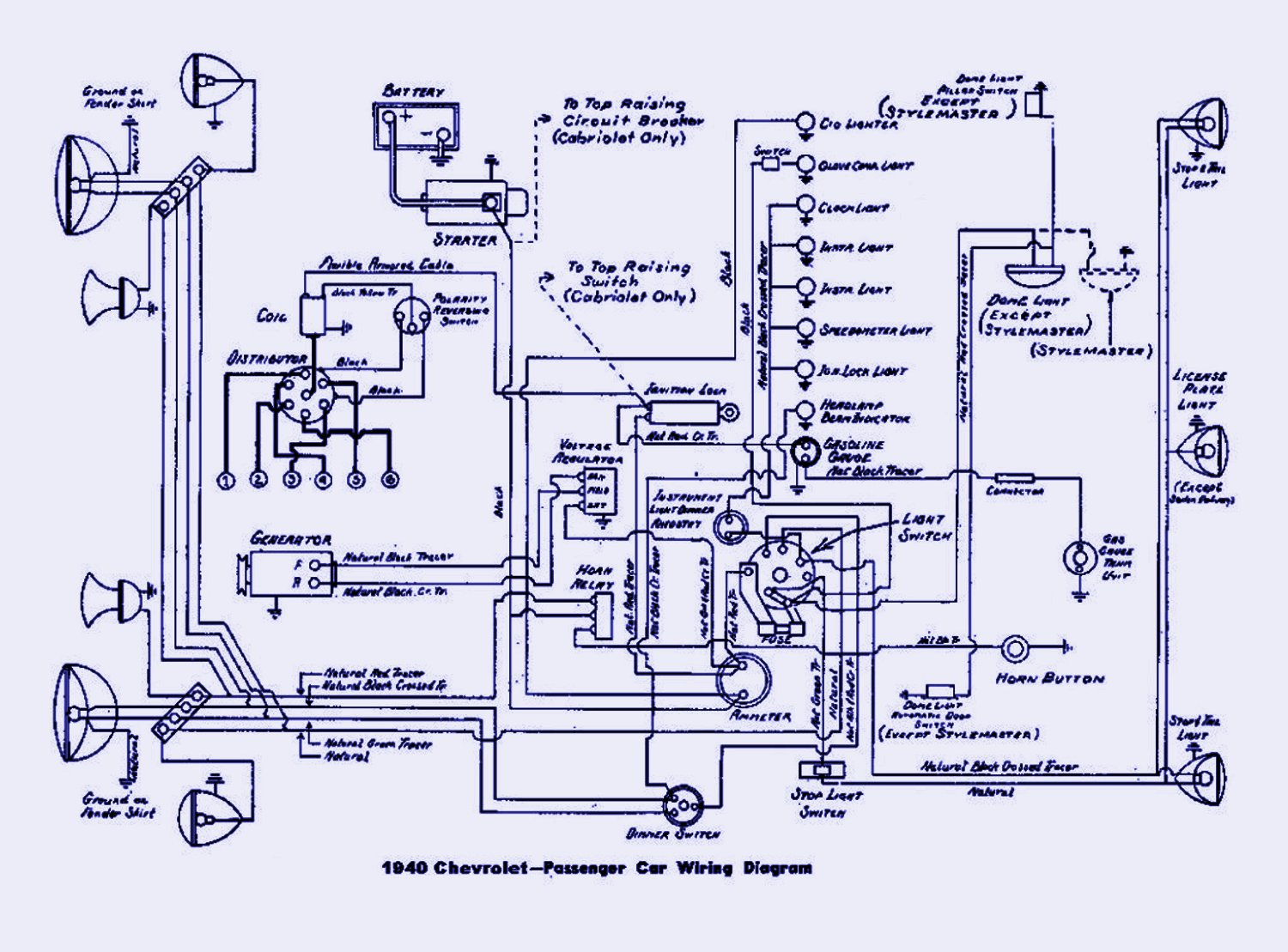 Radio Wiring Diagram 1969 Ford Mustang Wiring Diagram Chevrolet Chevy